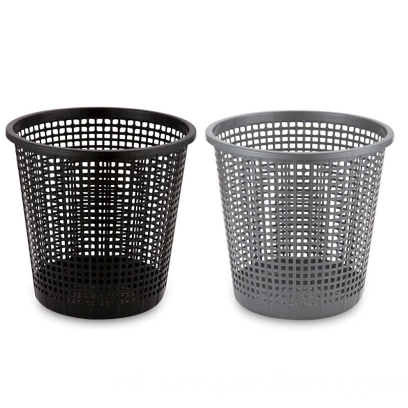 Plastic Open Top Hollow Waste Bin